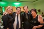 Gláucia Melo com seu esposo, o Deputado Estadual Júlio da Retífica, Waldemar e sua mãe Nilza Amaral