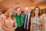 Os casais Mara e Waldemar, Aniss Rassi Júnior e Ivana Rassi