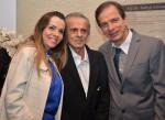 Dra. Rosana Salum, D. Nabyh e Dr. Waldemar Naves do Amaral