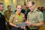 Diretor-presidente da Fundação Tiradentes - Tenente Coronel Cleber Aparecido Santos recebe Comenda do Mérito Acadêmico