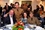 Neurocirurgião Francisco Azeredo com sua esposa, a cardiologista Luciene Marino de Azeredo Bastos