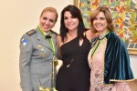 Tenente Coronel Bombeiro Simone, Jussiara Soares Gonzaga e Tenente Coronel Sandra Maria da Fonseca Diniz