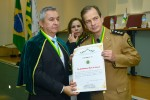 Tenente Coronel Médico Waldemar Naves do Amaral, que agora ocupa a cadeira nº 52 da Academia Nacional de Saúde das Polícias Militares e Bombeiros Militares do Brasil
